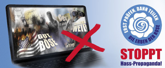 "lmb unterstützt Kampagne ""Stoppt Hass-Propaganda"""