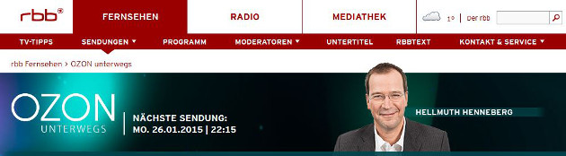 "Medienwerkstatt Potsdam in rbb-Sendung ""OZON"""
