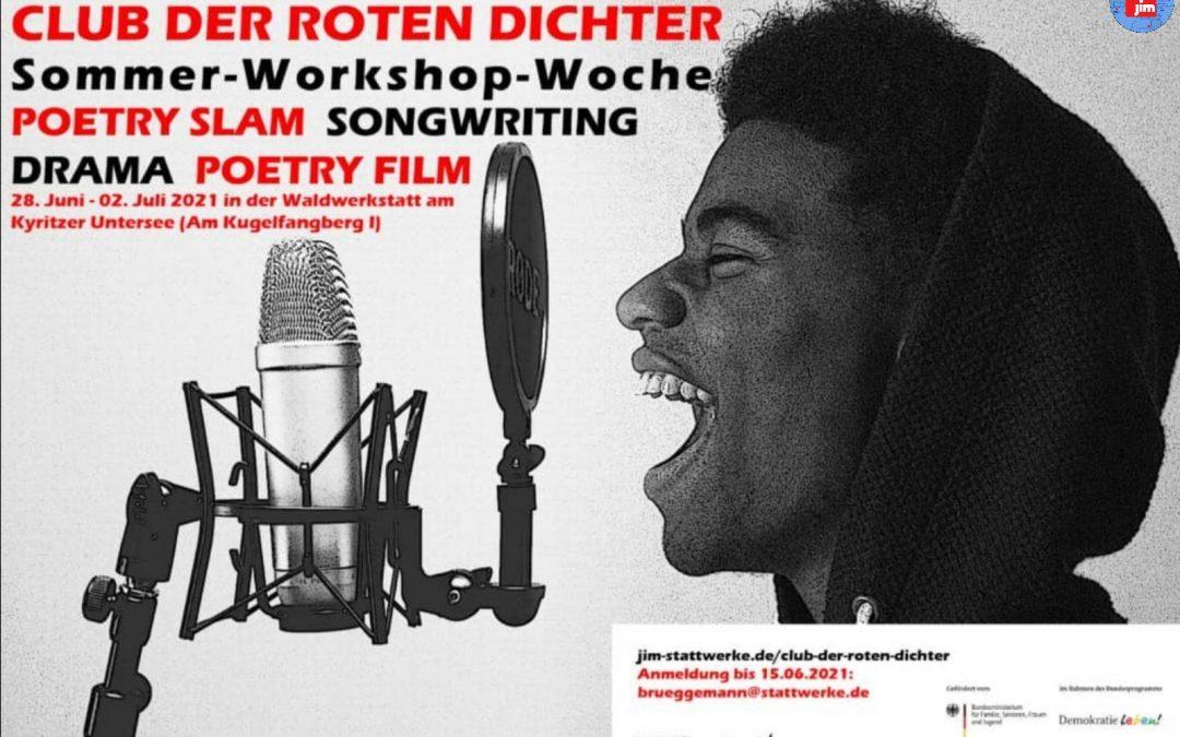 Poetry Slam in der Waldwerkstatt
